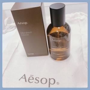 【香水】Aesopのマラケッシュを浴びることで私の体は寺院と化した