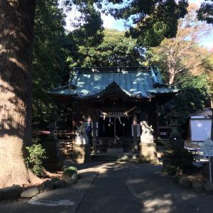 【綾瀬市早川】住宅街にある五社神社