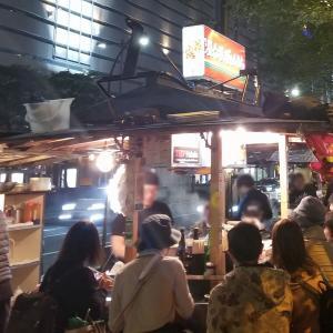 天神屋台屋ぴょんきち:テンション高っ!大人気の屋台でラーメン・餃子を堪能!