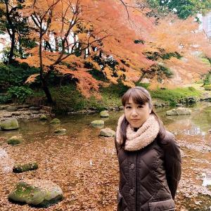 【小石川後楽園で紅葉に浸る】の巻♪