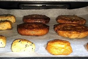 ヘルシオ:冷凍さつま揚げをまかせて調理の焼きで。焼きすぎに注意。