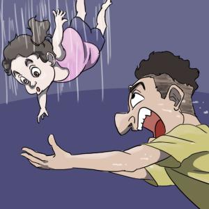 【動画】2階の窓から落ちた赤ちゃんを少年がキャッチし命を救う【トルコ】