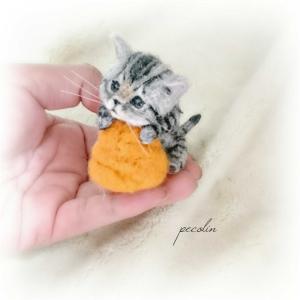 サバトラの子猫完成🙂