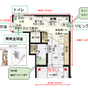 間取り紹介:玄関と玄関ホール