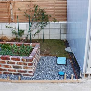苔用花壇の設置