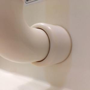 【水垢】お風呂の手すりについたカルキを確実に落とす方法。