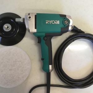 【掃除グッズ】RYOBIの「シングルアクションポリッシャー PE-201」を購入しました!
