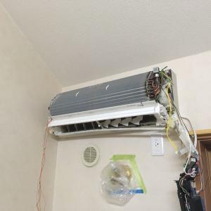 素人がお掃除機能付きエアコンの分解に挑戦した結果。