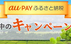【au PAY ふるさと納税】ポイントサイト経由で最大10%還元も!さらに月5,000円以上au PAY マーケットで購入すれば、1%分が追加でポイント還元!