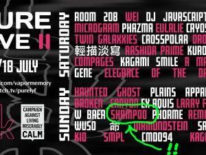 shampoo: Live at PURE LIVE II (2021) - We are Shampoo! …とは少し違い