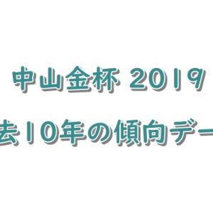 中山金杯(G3)2019【過去10年の傾向データ】
