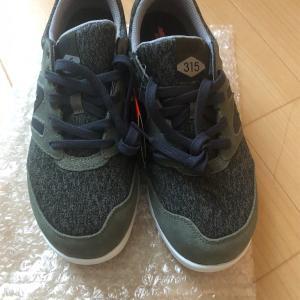 ニューバランスの靴を買ったよ