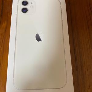 iPhone 11買いました
