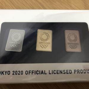 東京オリンピック2020 金銀銅3種