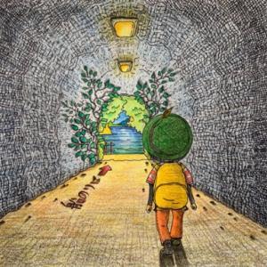空想遠足シリーズ_6 「トンネルを抜けて」