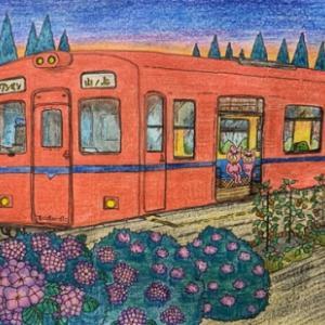 空想遠足シリーズ_5 「始発列車に乗る」
