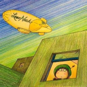 空想遠足シリーズ_16 「飛行船を眺める」