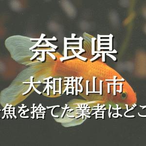 奈良県大和郡山市で金魚を用水路大量に捨てた業者はどこ?養殖業者の従業員が関与か