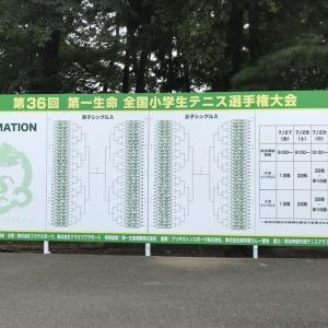 ジュニアテニス選手が目指す 3大大会🏆🏆🏆 ♯11
