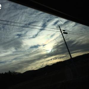 見たら幸運が訪れる「彩雲」を見ました!