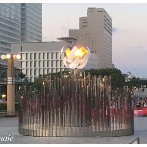 オリンピック聖火台は今どこに? 見てきました『聖火』