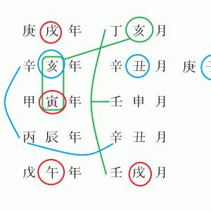 TOKIOの命式の組み合わせの変化 ~株式会社TOKIOに幸あれ~