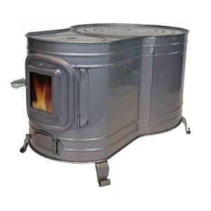 【ホンマ時計2型薪ストーブ】キャンプで使える安くて評判の良い薪ストーブ