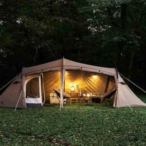 【GILIA(ギリア)】2人用・5人用インナー付属のお得なテント