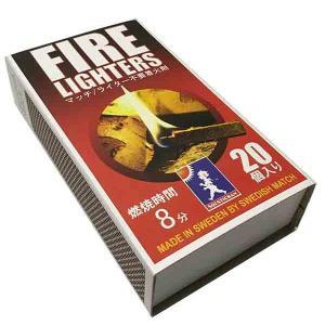 【FIRE LIGHTERS (ファイヤーライターズ)】デッカいマッチ棒型着火剤もうライターはいらない
