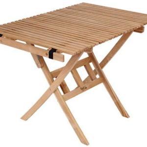 【バイヤーパンジーンロールトップテーブル】木製のハイスタイルテーブル