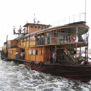 【ロケットスチーマー乗船】クルナからダッカへ向けて2泊3日の船旅出発まで