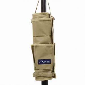 【ポールポケット】テンマクデザインのあると便利な収納ポケット
