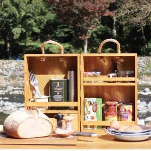 【スパイスボックス】テンマクデザイン&ソルムのお洒落な木製ボックス