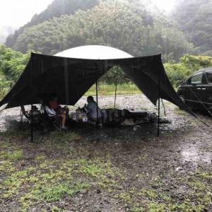 【雨キャンプ】読みがはずれた雨キャンプ