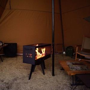 【TENTO暖炉】煙突のいらないストーブ!一酸化炭素中毒の心配もいらないだと!?