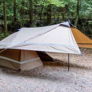 【パップタープ】簡易テントにもなるYOKAのタープは遊び心満載