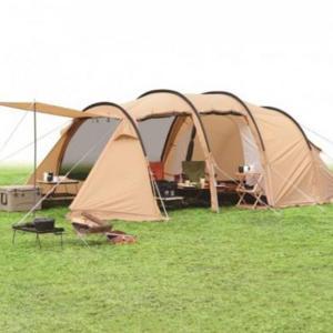 【イグニオ】キャンプドームテント(IG19410TT)はカマボコ型のトンネルテント