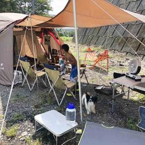 【お盆グルキャン】めちゃ暑かったグルキャン初日のキャンプ(前編)