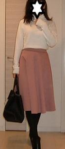 GUポンチフレアスカートの春色清楚系コーデ☆fifthでレアな60%オフクーポン登場