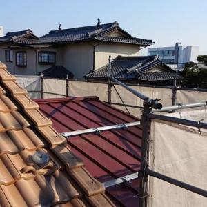 えーーー!玄関の屋根がぁぁ!!〈98日目〉