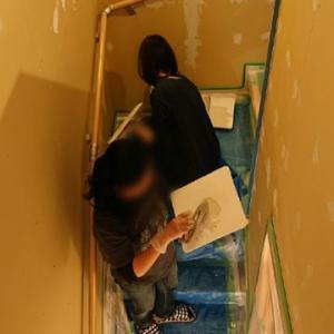 壁塗り体験第一号✨✨〈194日目〉
