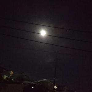 見えた!ジュピターイヤーの満月
