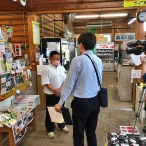 テレビ和歌山から取材を受けました