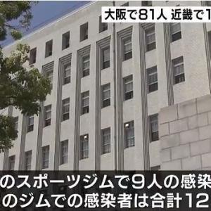 【大阪】枚方市のスポーツジムでクラスター 計12人感染 施設名は公表せず 19日