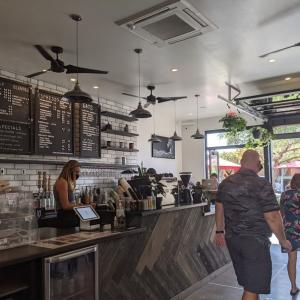 ハワイ島のコーヒー屋さん