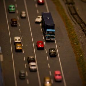 過去最高のドライブ時間。渋滞の赤いブレーキランプが綺麗に見えてくる。。。