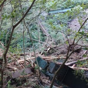 【台風】箱根登山鉄道 土砂崩れなどで全線運休