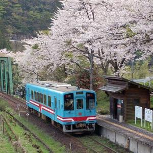 樽見鉄道にプラレールラッピング列車が走り始めた