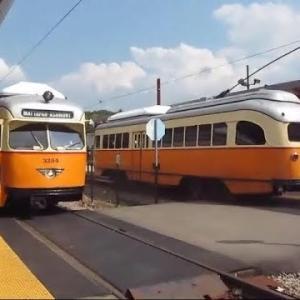 レトロな見た目なのにけっこう速い! 1940年代の路面電車「PCCカー」が元気に現役運行中