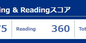 第252回TOEIC Listening & Reading公開テストの結果